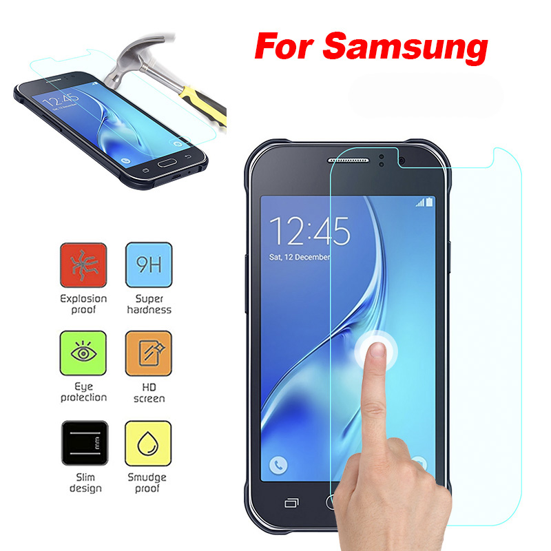 Screen Protector Tempered Glass for Samsung Galaxy J1Ace S7 active J7 Prime Toughened glass for A8 A8Plus J2pro 2018 Glass film
