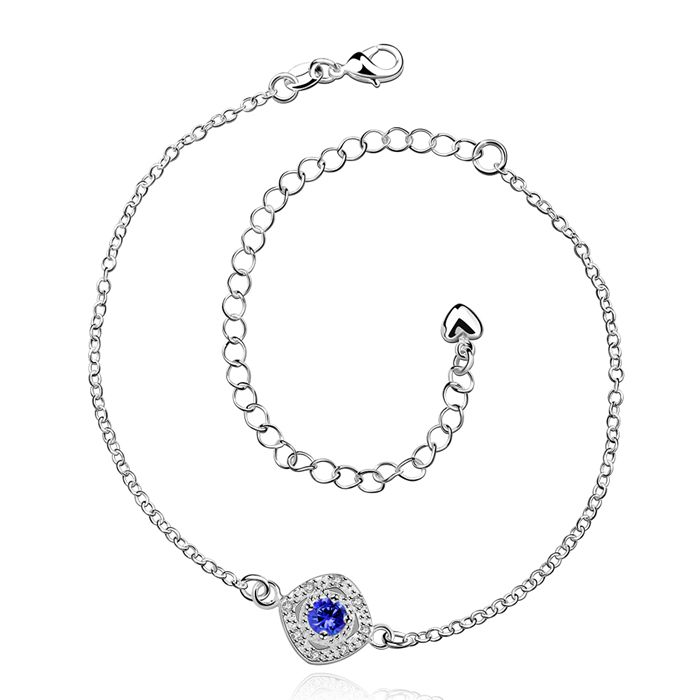 Anklet 925 font b jewelry b font font b jewelry b font anklet for women font