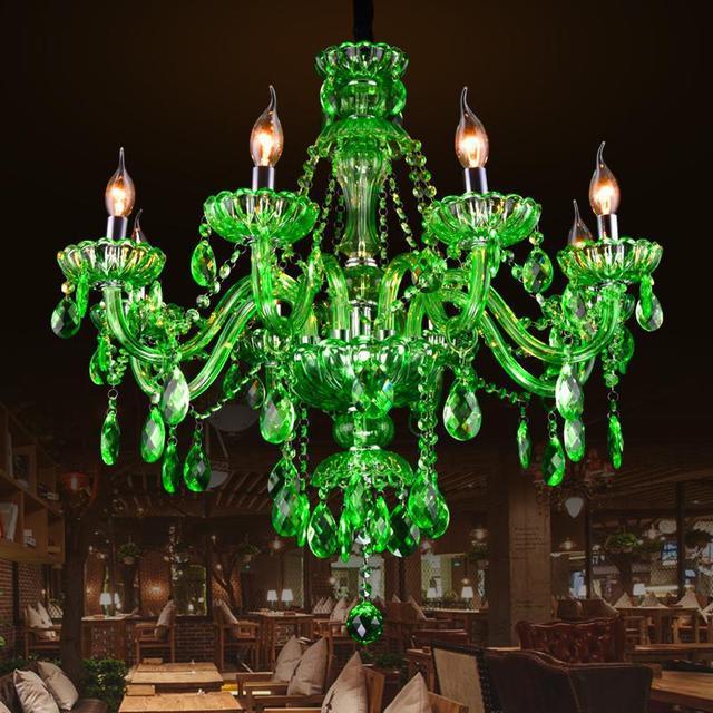 Bar 68 arms antique green lustre mano glass chandelier pendant bar 68 arms antique green lustre mano glass chandelier pendant crystal lamp cafe restaurant aloadofball Gallery