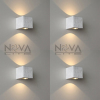 Indoor Small Wall Lamp LED Up Down Wall Sconce Aluminum Residential Lighting LED Hotel Light AC230V