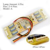 6 Lamp 4 Port 6 Port Inverter High Pressure Module LTM213U6 L01 CCFL For LCD Board