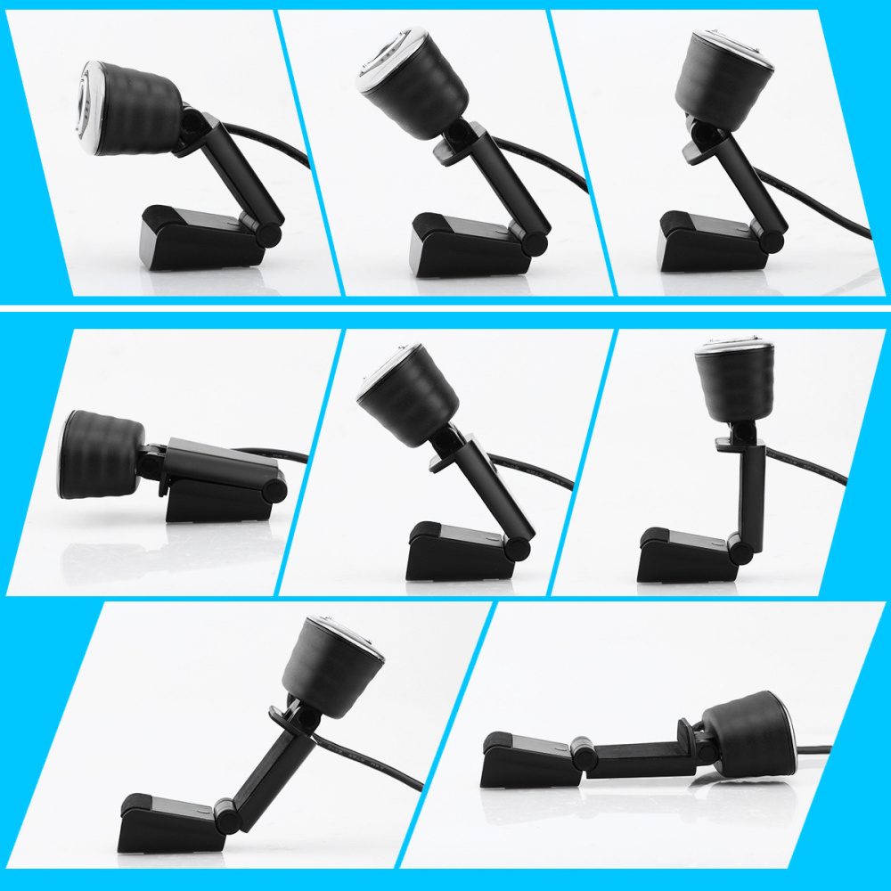 Image 5 - HXSJ USB 2.0 Digital Video Webcamera Webcam Web Camera HD  Pixels With Sound Absorption Mic Microphone For Desktop PC Lap-in Webcams from Computer & Office