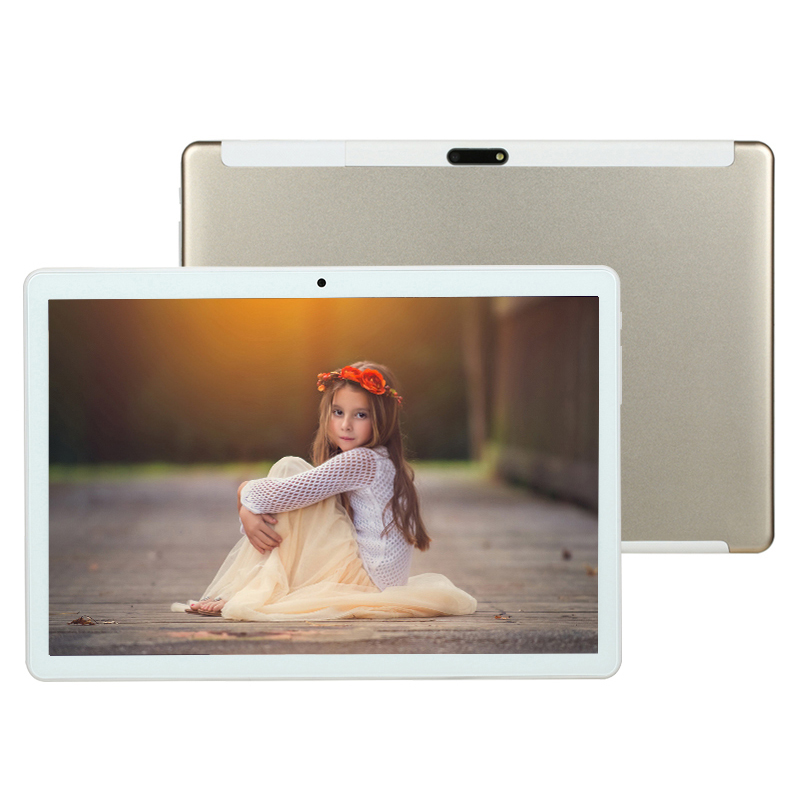 2019 Newset Google Play Android 8.0 OS 10.1 Inch Tablet Octa Core 6GB 4GB RAM 128GB ROM 1280x800 IPS 2.5D Glass Kids Tablets 10
