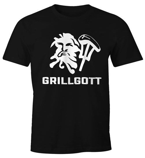 T-Shirt Grill-Gott Fun-Shirt  discout hot new fashion top free shipping 2018 officia Print Round Neck Man