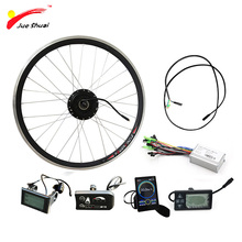 36V 250W-500W Electric Bike Conversion Kit Front Motor Wheel Brushless Hub Motor 20'' 24