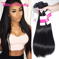 Whole sale Brazilian 10 Bundles 8a Grade Virgin Unprocessed Human Hair Straight Grace Hair Products Tissage Bresilienne