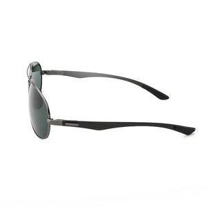 Image 3 - מתכת מסגרת שלג משקפיים באיכות סופר אור אביב רגליים משקפי שמש מקוטב מותג איכות זכר/נקבה משקפי שמש 8112Y