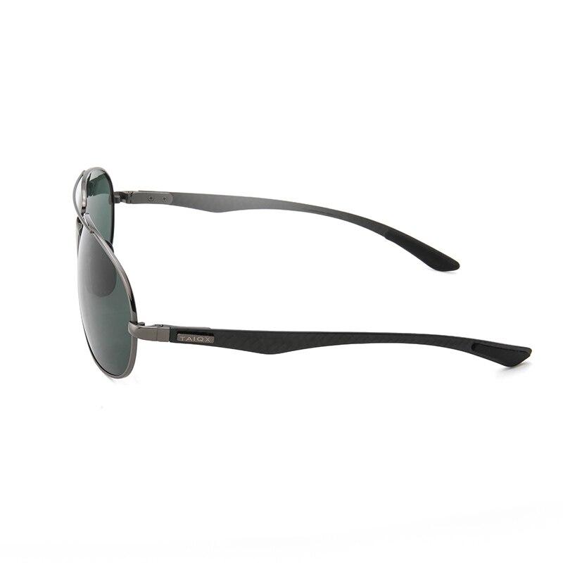 Image 3 - Metal frame snow glasses. Quality super light Spring legs Sunglasses polarized. Brand quality male / female sunglasses 8112Y-in Men's Sunglasses from Apparel Accessories