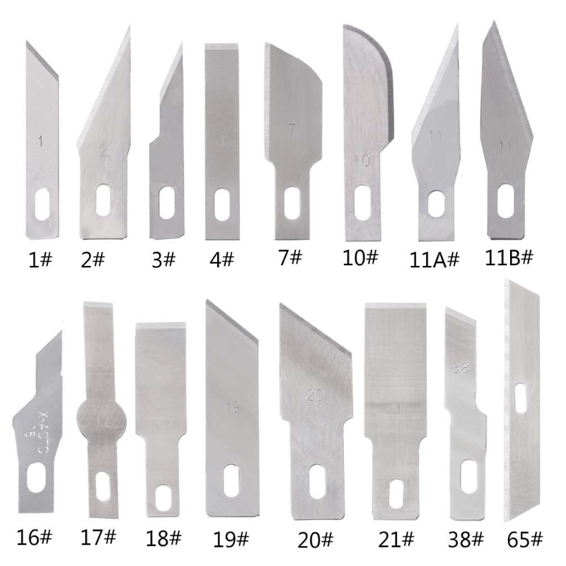 5 шт хирургический Скальпель для ремонта телефона многофункциональный нож для резки бумаги Запасное лезвие|Ножи|   | АлиЭкспресс