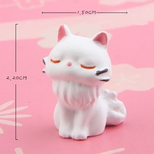Black Cat & White Cat Resin Action Figures Collection Model Toys