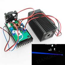 2000mW 445nm Blue Laser Module Diode Stage Lighting Effect Christmas Lights Projector