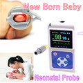 2016 hot! CE infant Neonatal baby Color Handheld Pulse Oximeter Spo2 Monitor +Software USB Interface