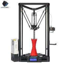 ANYCUBIC 3D impresora polea o lineal más de la mitad de ensamblado con nivelación automática grande 3D tamaño de impresión de impresora 3D DIY kit de