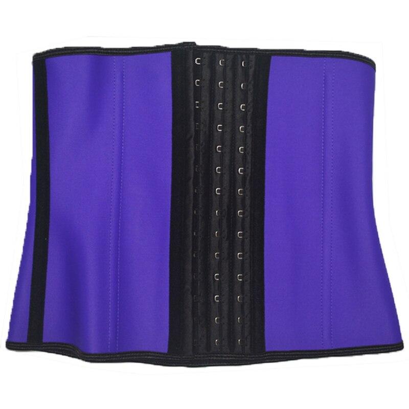 Elastic Adjustable Belt Steel Boned Neoprene Tummy Stomach Waist Back Slimming Vest Corset Women Fat Burning Weight Loss Belt