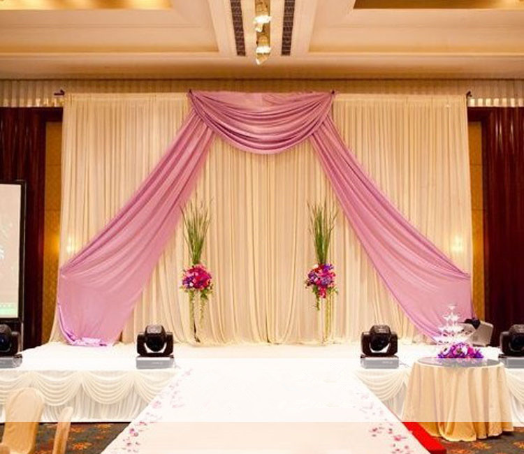 Stage Background Wedding props thicker square tube Frame Adjustable ...