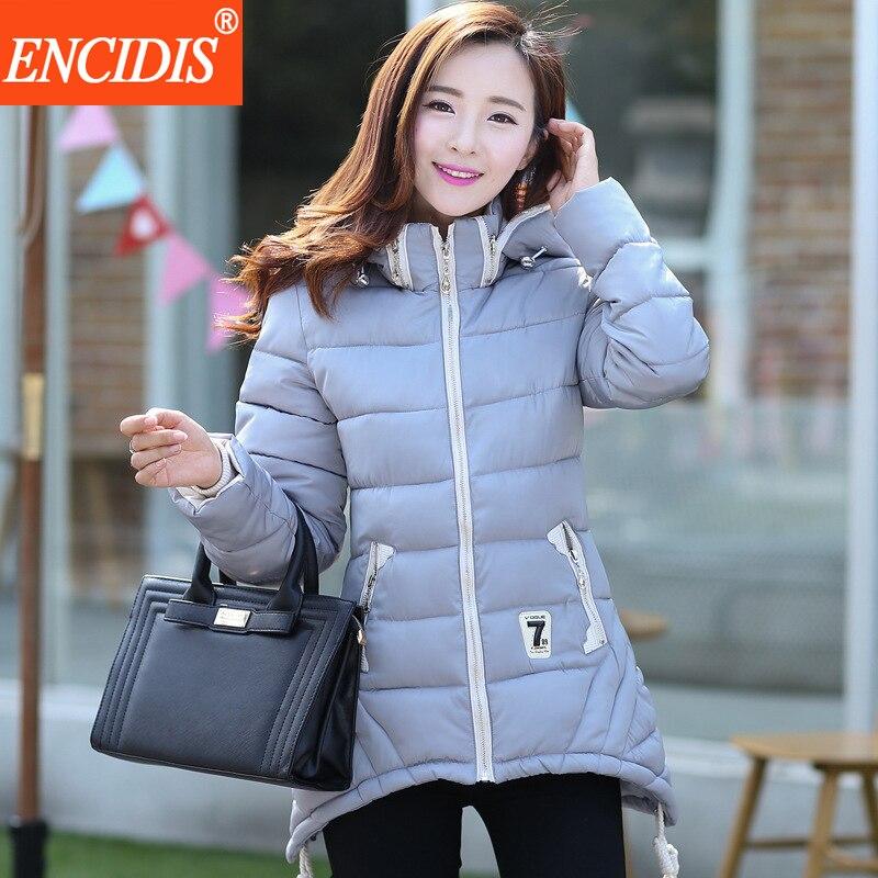Sıcak satış 5 renkler 2016 Yeni kadın Kışlık mont ve ceketler Yüksek Kalite Lady Parkas Coat Kalın Kadın giyim M69