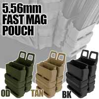 Abay Tactical AR M4 5.56 FastMag Molle Pouch Military Wargame Airsoft Fast Mag Holder Hunting Pistol Magazine Dump Pouch