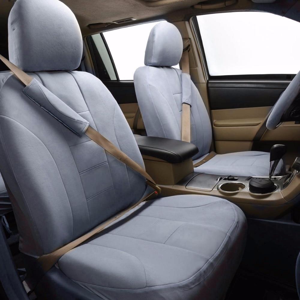Avtomobil keçidli avtomobil oturacağı örtüyü 6 rəng universal - Avtomobil daxili aksesuarları - Fotoqrafiya 6