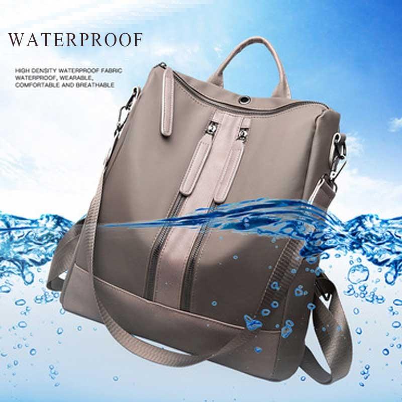 NIBESSER Cool Backpack School Backpack For Teenage Girl Earphone Backbag Student Waterproof Back Pack mochila Notebook Backpack