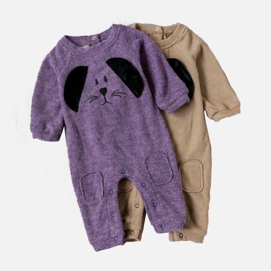 Baby Rompers Spring Autumn Cartoon Dog Baby Clothes Cotton Long Sleeve Jumpsuits Boys Girls Rompers  Baby Outfits Girls Clothes hhtu baby rompers jumpsuits baby girls clothing children autumn newborn baby clothes cotton long sleeve climb clothes
