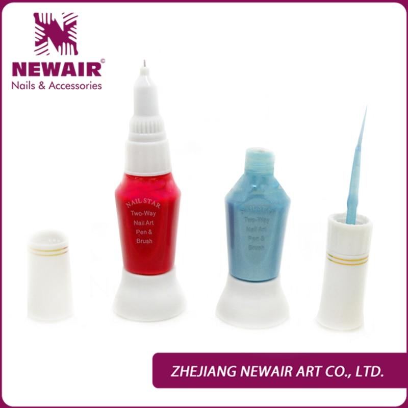3PCS Nail Art Pen Hot Selling Design Two Use Nail Painting Paint ...