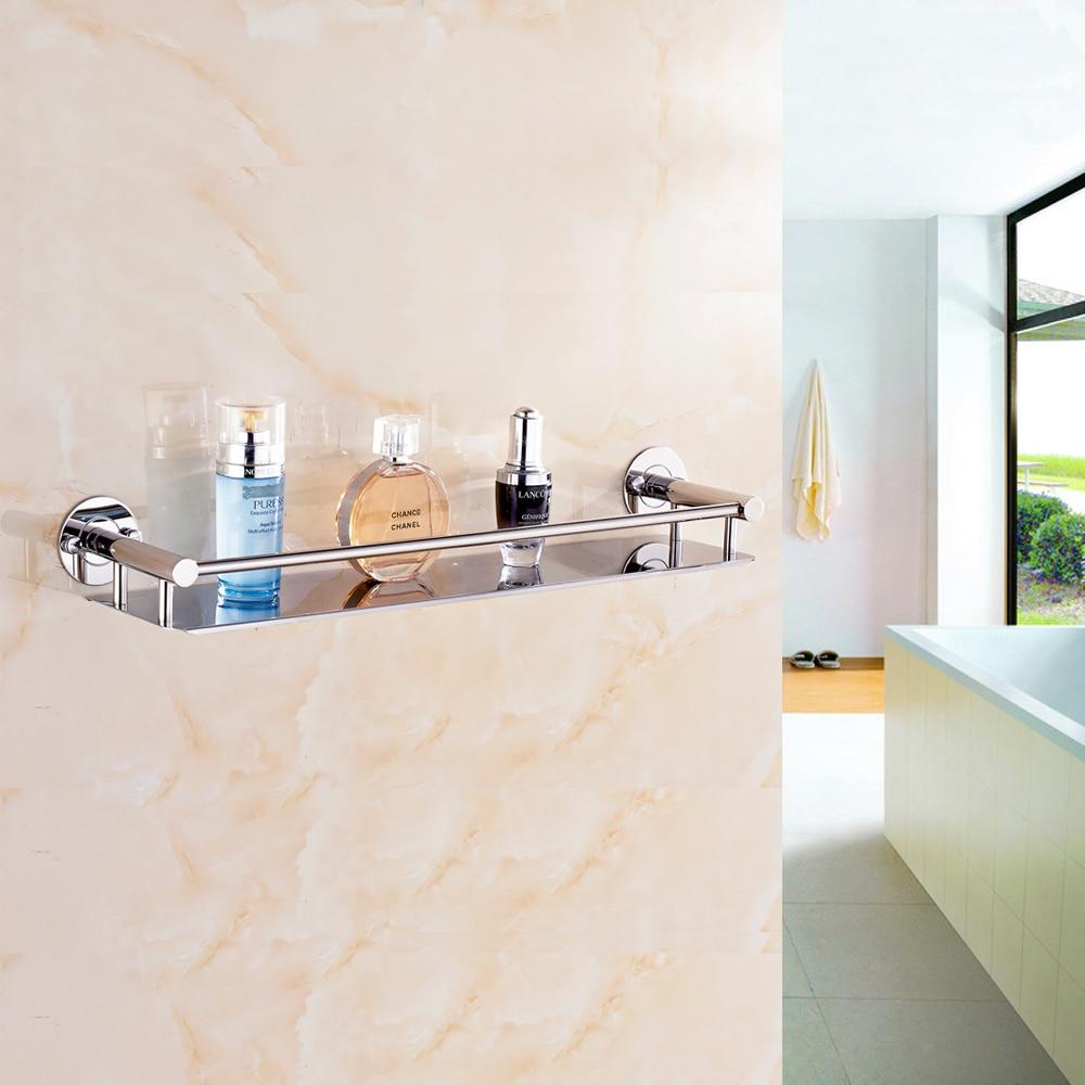 Jieshalang 304 Stainless Steel Bathroom Shelf Toilet Rack Towel ...