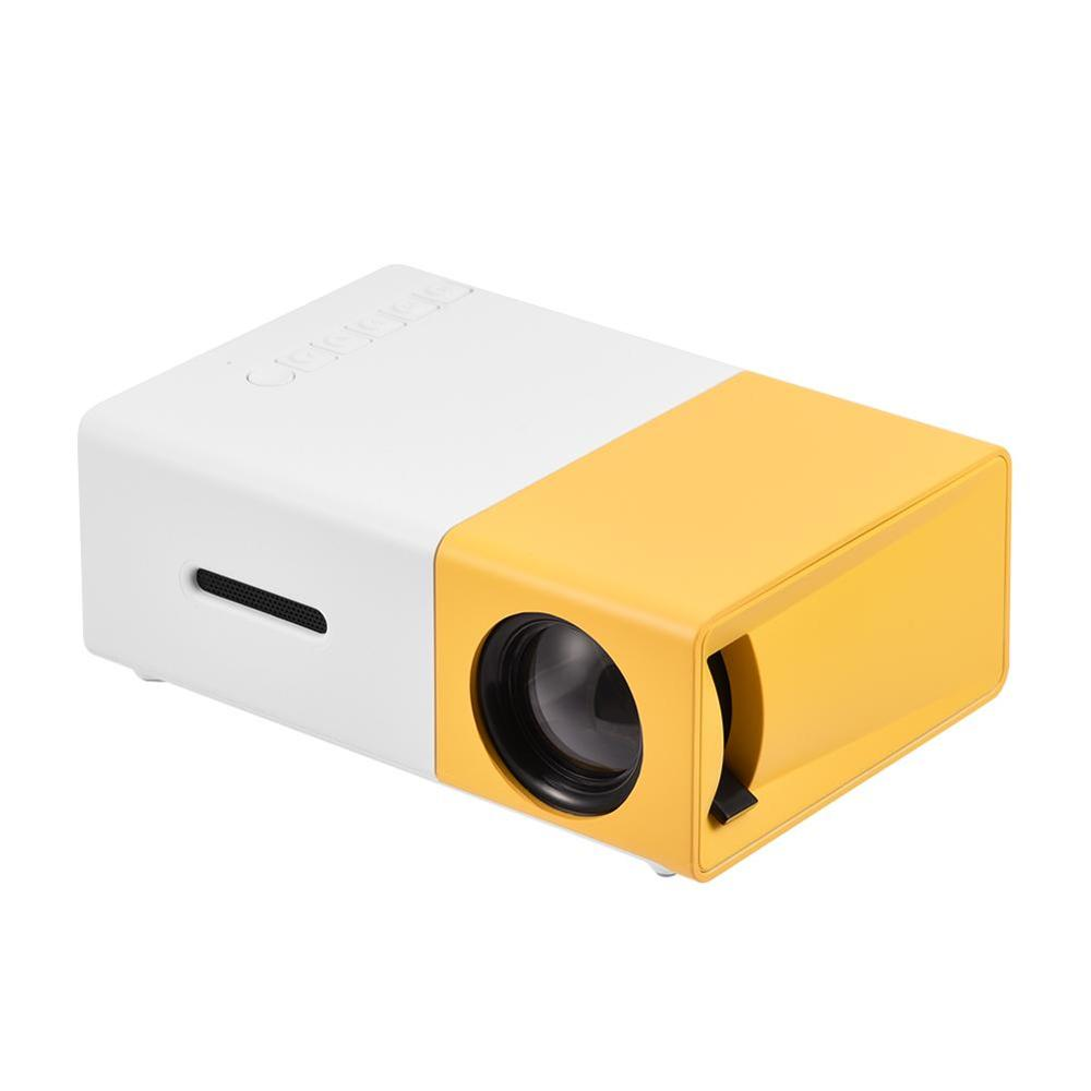 New LED Video Projector mini projector Support 1080P Mini Portable sound system for PC Laptop iPhone