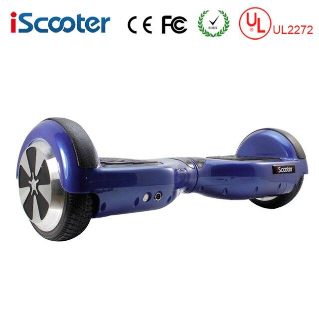 IScooter UL2272 hoverboard Электрический Скейтборд 2 Колеса самостоятельного Баланса скутер одноколесном велосипеде Постоянный Смарт два балансировка колес скутер