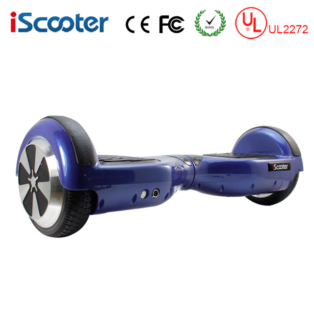 Iscooter Ul2272 Hoverboard Electric Skateboard 2 Wheel Self Balance Scooter Unicycle Standing Smart Two Balancing