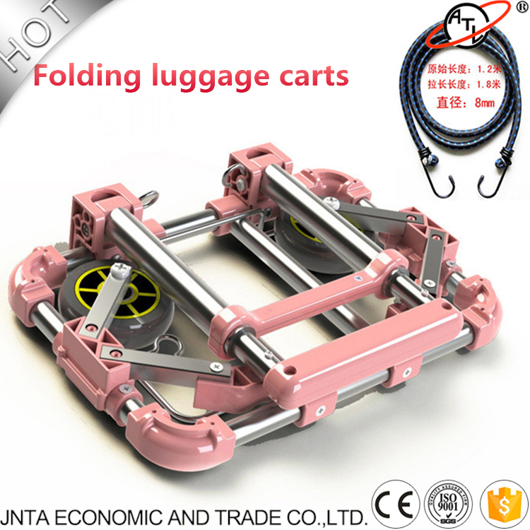цена на Auto accessories,folding luggage carts,car trolleys, wheelbarrow,oxidation-resisting steel material,easy to storage XL07