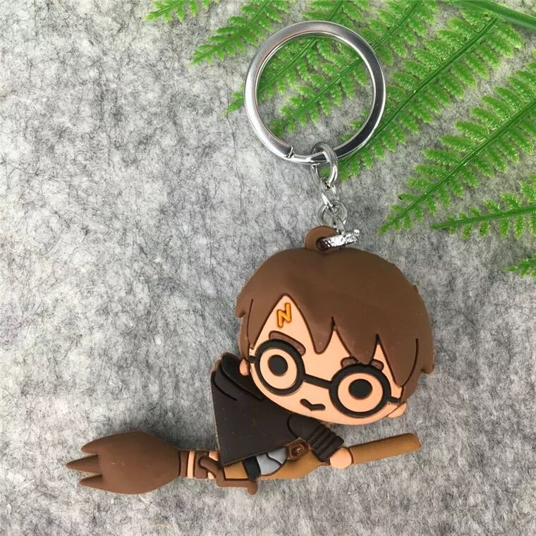 Harri Potter Dobby Hermione Dobby Pocket Keychain toy Marvel Guardians of Galaxy Tree man Deadpool Super hero keychain toy