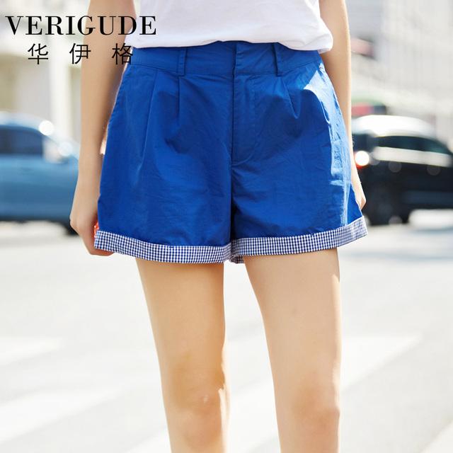 Veri Gude para pantalones cortos sueltos para el verano algodón Material alta calidad