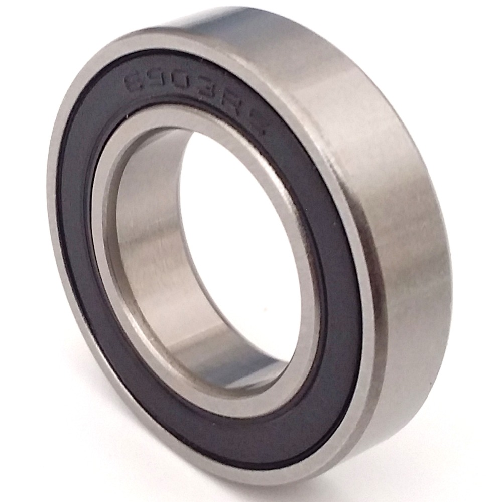 MOCHU 1pcs Bearing 6903 6903RS 61903-2RS1 6903RZ 17x30x7 ABEC-3 MOCHU Thin Section Shielded Deep Groove Ball Bearings Single Row