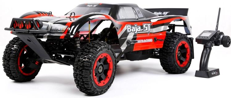 Rovan Gasoline Truck Baja 5T 2WD with 32CC Engine rovan baja 5fc racing 2wd 26cc engine walbro668 ngk