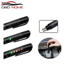 OBD2 точная проверка качества масла 5 светодиодный тестер тормозной жидкости для автомобиля цифровой тестер тормозной жидкости для автомобиля инструмент для тестирования автомобиля