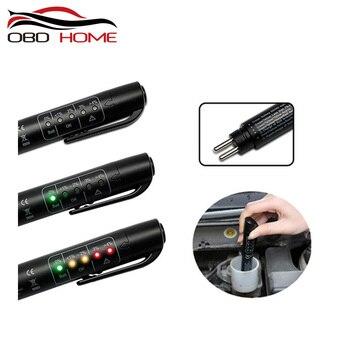 OBD2 Точная ручка для проверки качества масла 5 светодиодный тестер тормозной жидкости для автомобиля цифровой тестер тормозной жидкости для автомобиля инструмент для тестирования автомобиля