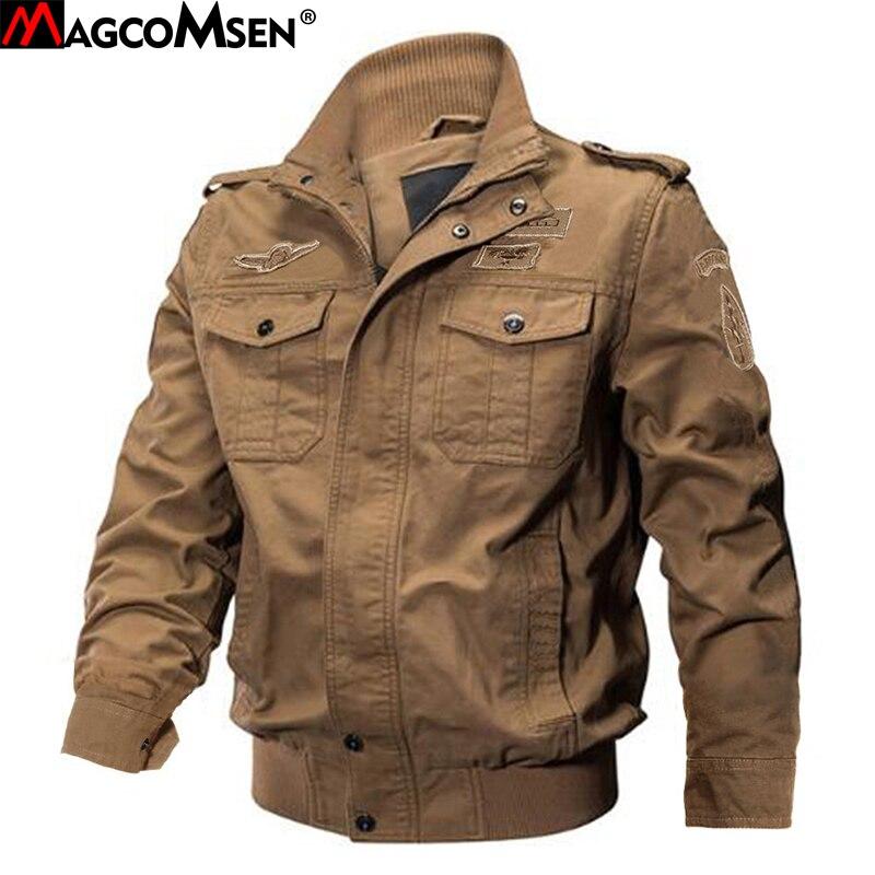 100% Wahr Magcomsen Militärische Taktische Jacke Männer Winter Baumwolle Cargo Jacke Mantel Armee Herren Bomber Jacke Casual Cargo Jacken Ag-ssfc-38
