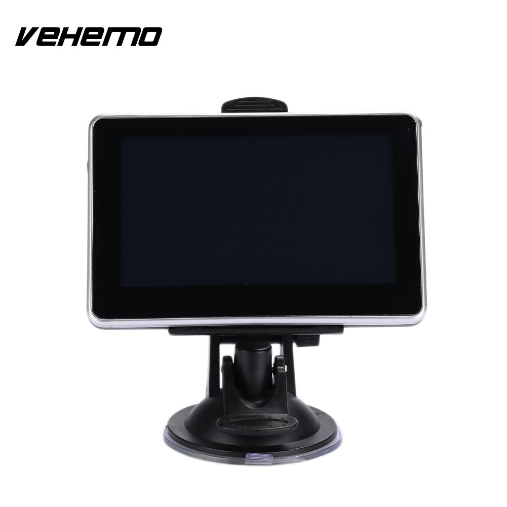 Vehemo Built-In Europe Map 128M Car GPS Navigator MP4 Player MP3 Player Navigation Player Stereo Motor Highperformance