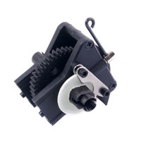 Free Shipping HSP 1/10 Speed Reduction Gear Set Differential Gear Box 02126 Spare Parts Fit for 94101 1/10 RC Car