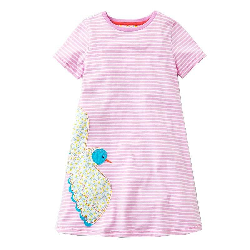 Baby Girls Dress 2018 Brand Summer Toddler Dresses Flower Princess Costume for Kids Clothes Tunic Jersey Vestidos Children Dress