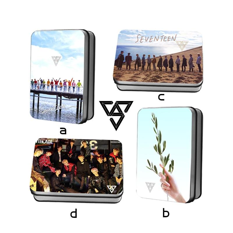 Beads & Jewelry Making Korean Kpop Seventeen 2nd Album Teen Age Polaroid Lomo Photo Card Collective Photocard 40pcs/box Fans Gift Drop Shipping