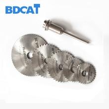 6pcs Mini HSS Saw Circular Saw Blade Rotary Tools For Dremel Metal Cutter jigsaw blade Wood Cutting Discs drive for cutting wood