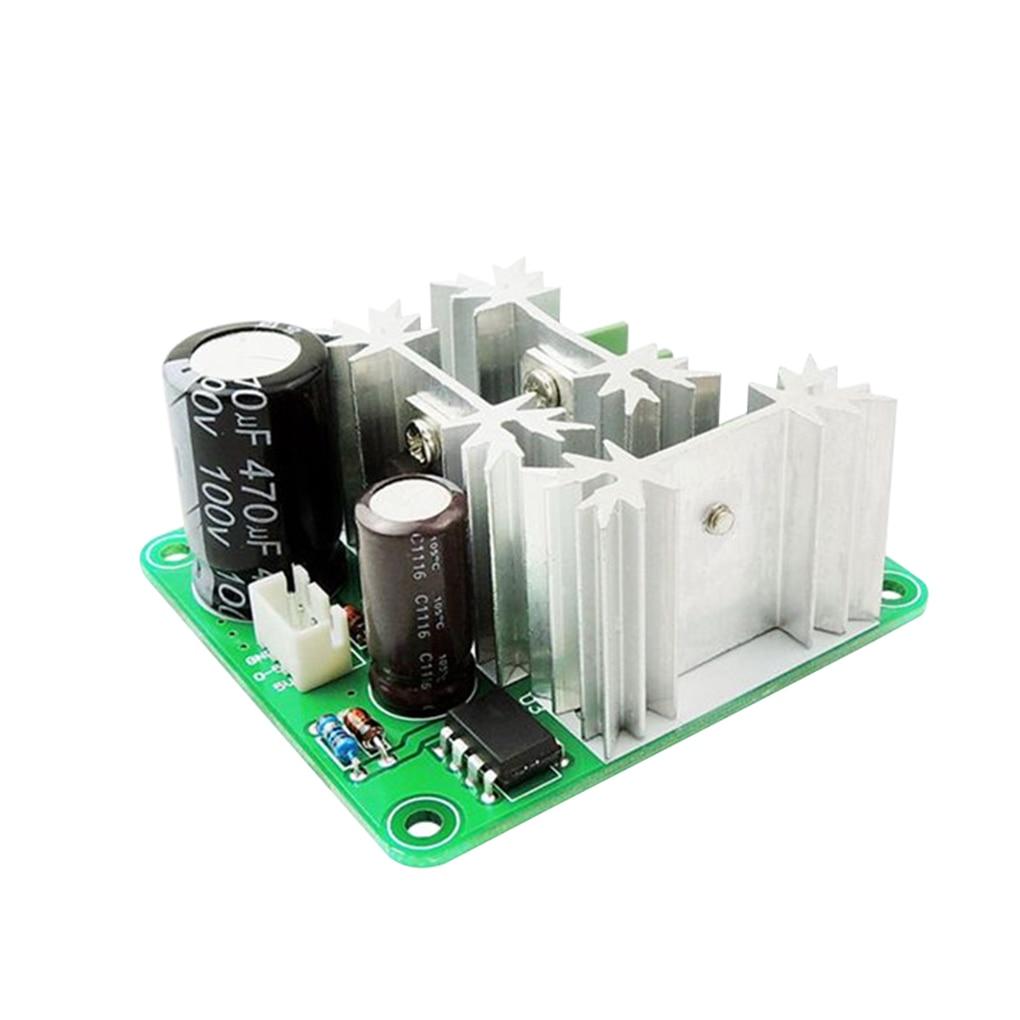 Home Improvement Motor Controller Humorous 1pcs Pwm Dc Motor Speed Controller 6v 12v 36v 60v 90v 15a Pulse Width Modulator