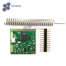 Low Power Consumption Si4432 433MHz Wireless RF Transceiver Module with Antenna for Arduino / RPi