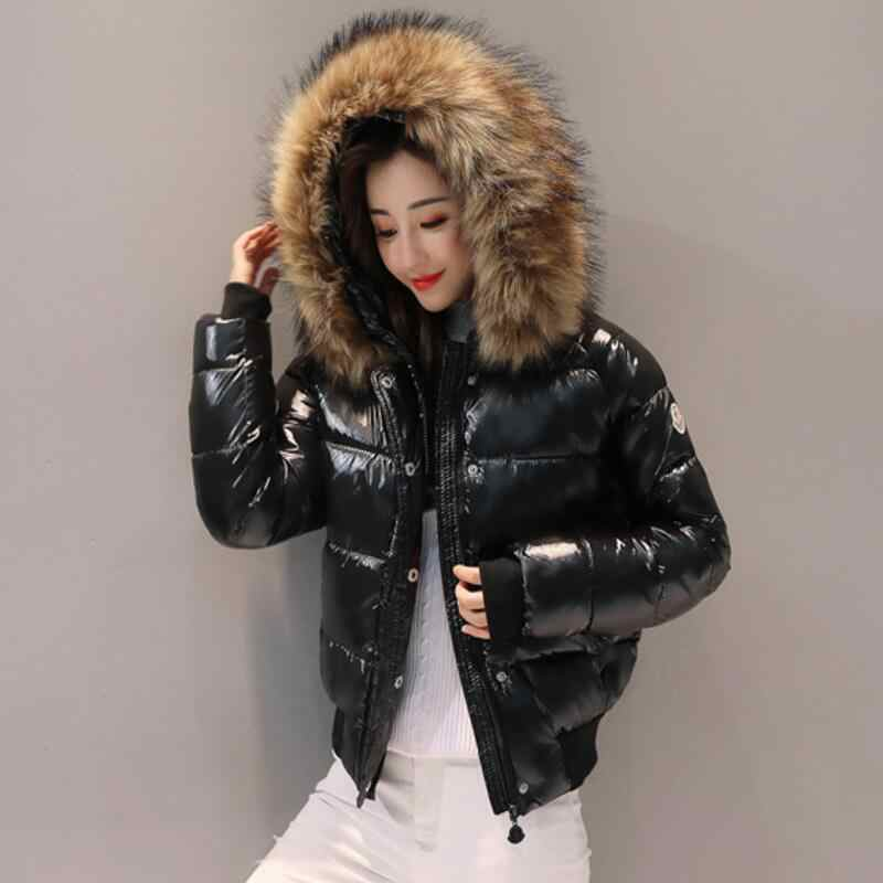 18CM Real fur Collar 2019 Down Jacket Women Parka Winter Jacket Womens Clothing Warm Winter Coat Female Jacket waterproof Parkas