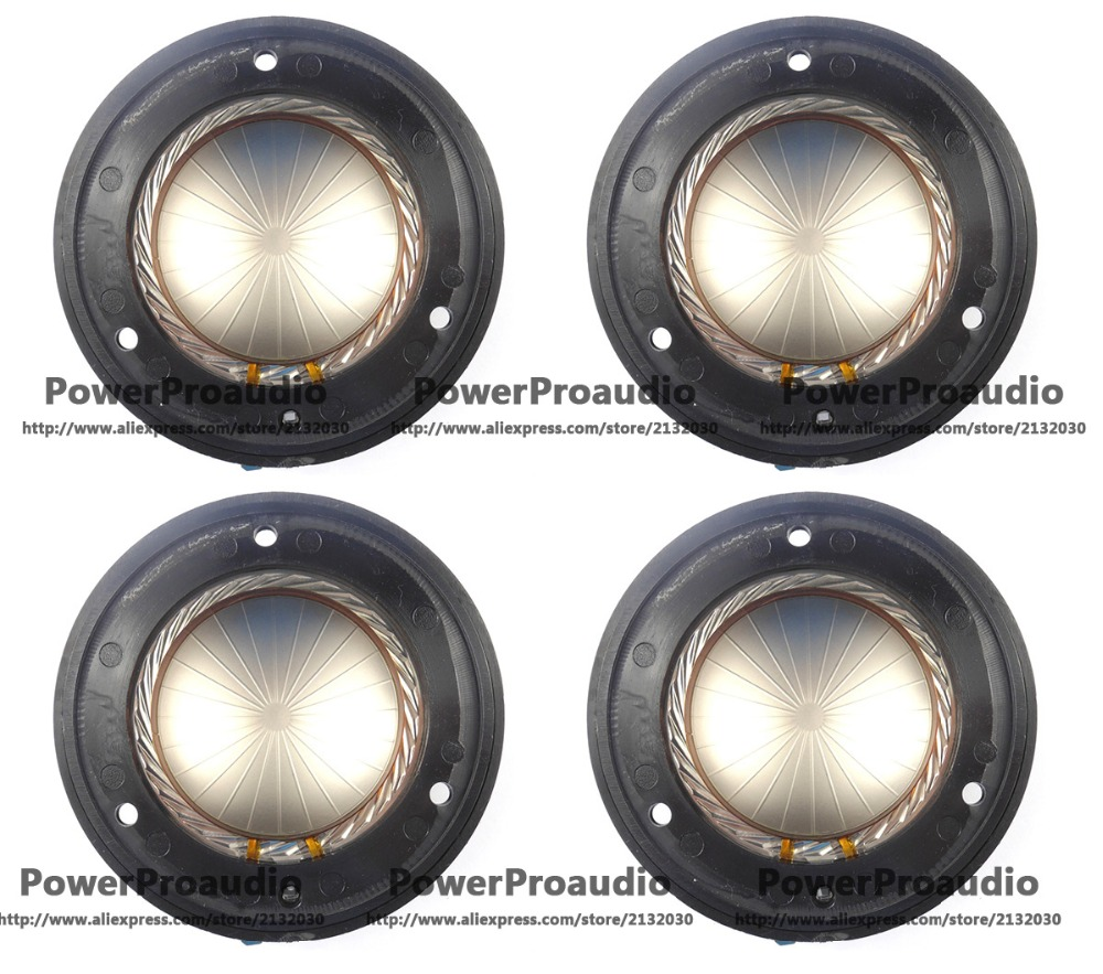 4pcs/lot Replacement Diaphragm For Wharfedale Titan D-701 Driver 8ohm le32a500g crh led driver v1 4 booster direct replacement used disassemble