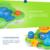 Nuevo Baño Del Bebé de Juguete para Niños Kids Aseo Fuente Flotante Eléctrico Apilador de Pulverización de Agua de Juguete Bañera Baño Natación
