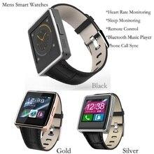 Smartwatch Telefono Orologio Montre Bluetooth Unterstützung Schrittzähler Analyse Bluetooth Musik Wiedergabe Pulsmesser Alitmeter