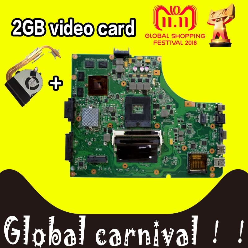 K53SV motherboard Upgrade send fan GT610M 2GB K53SV For ASUS A53S K53S X53S P53S K53SJ K53SM K53SV laptop Mainboard test 100% ok free shipping k53sv gt540m 2gb rev3 0 usb 3 0 mainboard for asus k53s x53s a53s k53sv laptop motherboard p n 60 n3gmb1a00 a02