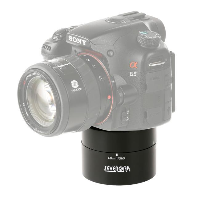 Sevenoak SK-EBH60 Panoramic Camera 360 degree Panning Rotating Drift Time Lapse Head Stabilizer For Gopro Phone Hero 3+ 4